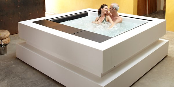 Cube Hot Tub