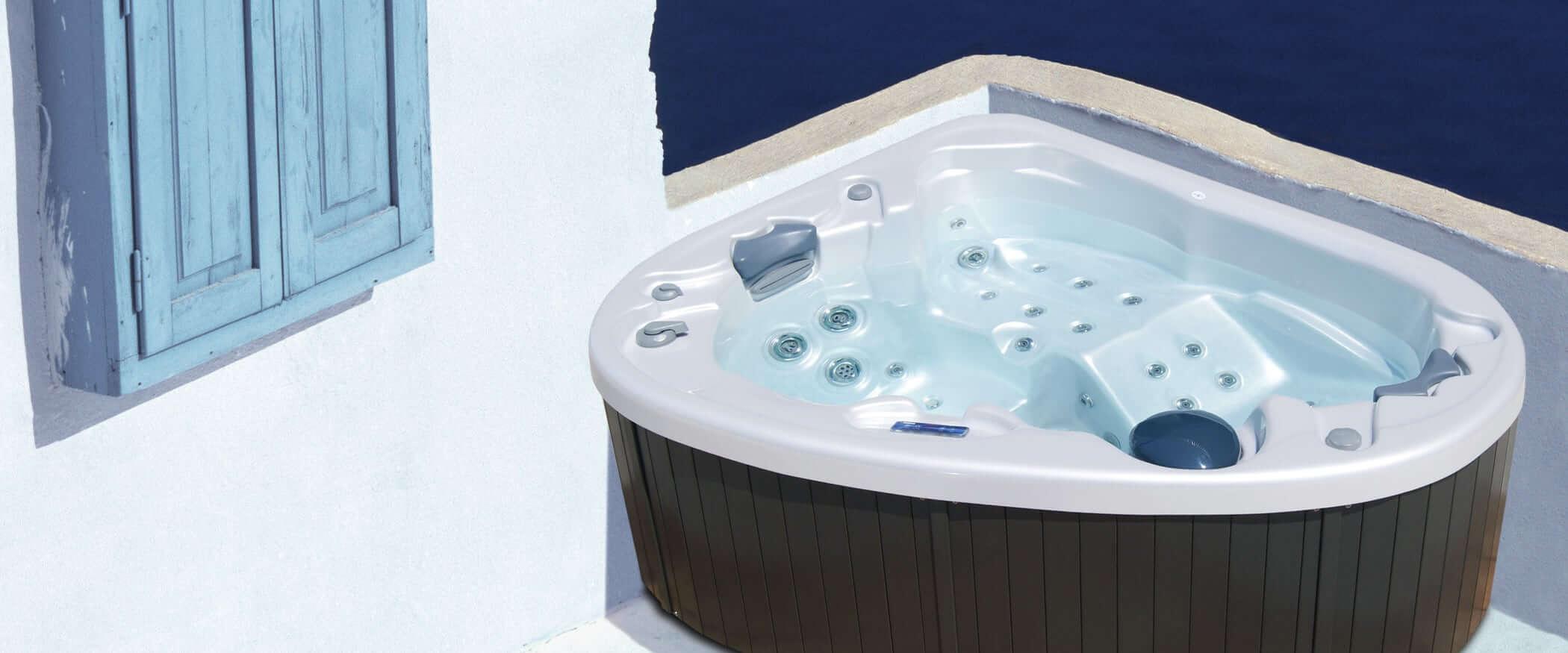 Jacuzzi Balboa 2 Places.Buy The Corner Hot Tub Aqualife Calypso Aquavia Spa