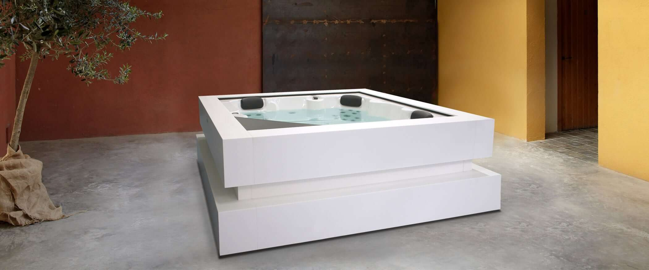 Buy Hot Tub >> Buy The Exclusive Hot Tub Cube Ergo Aquavia Spa