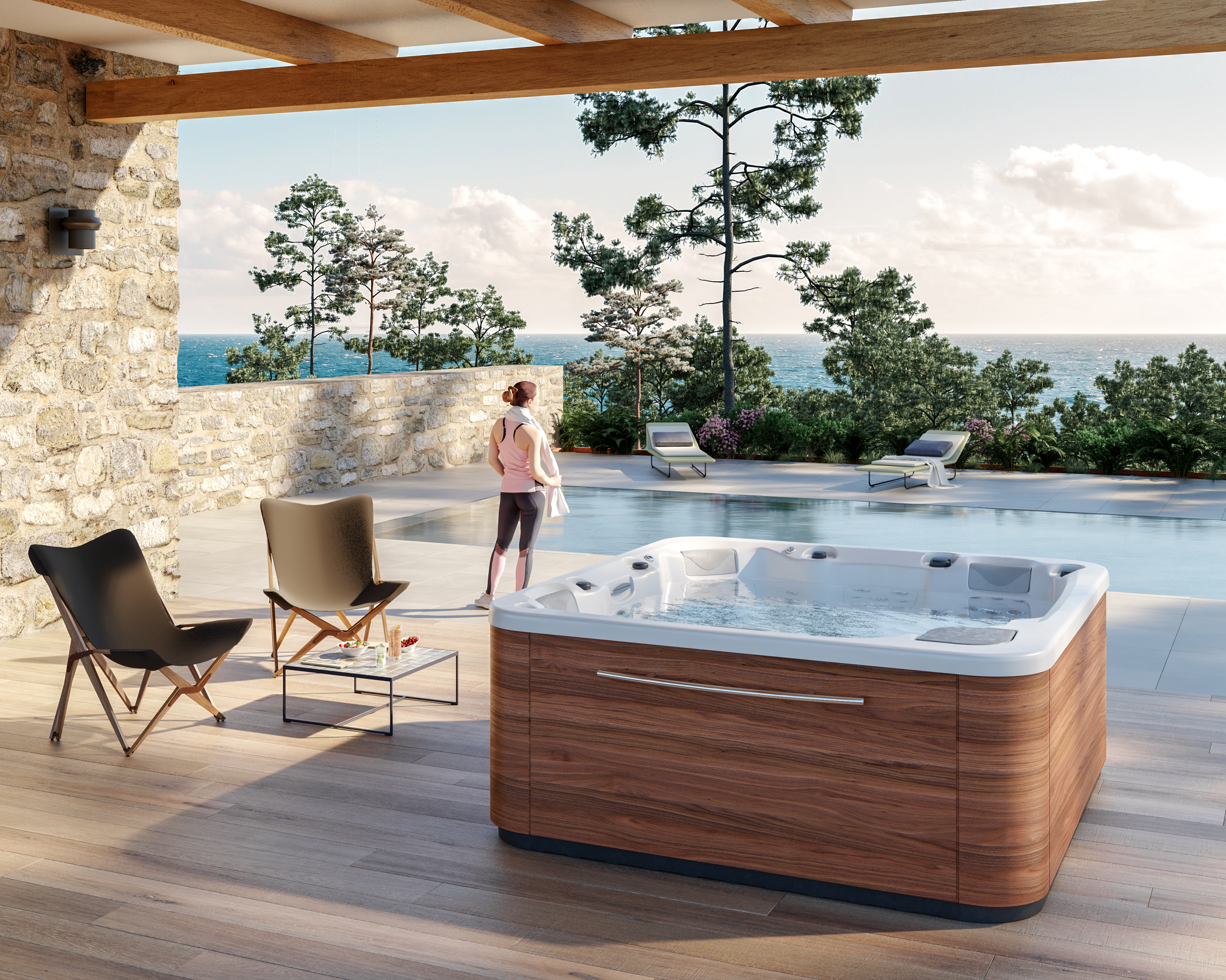 Jacuzzi Interior.Essence Hot Tub 5 Person Jacuzzi For Indoor And Outdoor